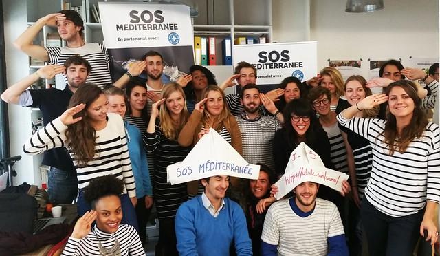 Revivez la campagne SOS Méditerranée en images !