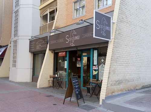 Zaragoza | Sopa de ganso | Entrada
