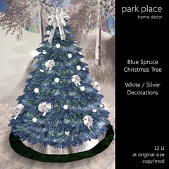 [Park Place] Blue Spruce Christmas Tree