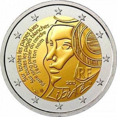 2 Euro Francúzsko 2015, Sviatok federácie