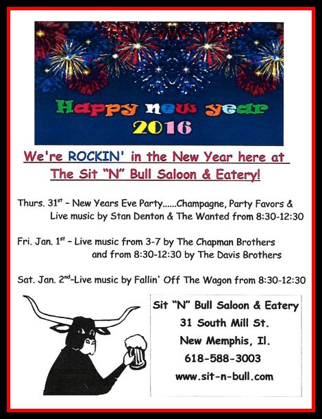 Sit N Bull New Year