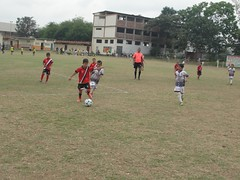 Grandes finales del segundo campeonato Infanto Juvenil zona norte de Manabí