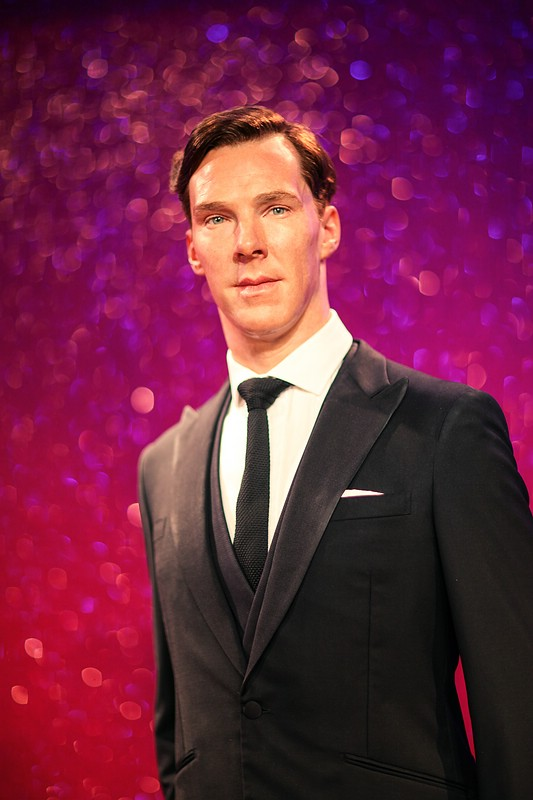 Benedict Cumberbatch Wax Figure