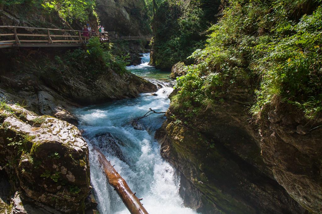 Slovenia, Vintgar Gorge