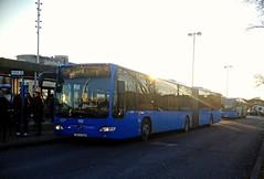 ZET 192 (ZG 2159 DY) on route 125 at Črnomerec interchange - 29th December 2016