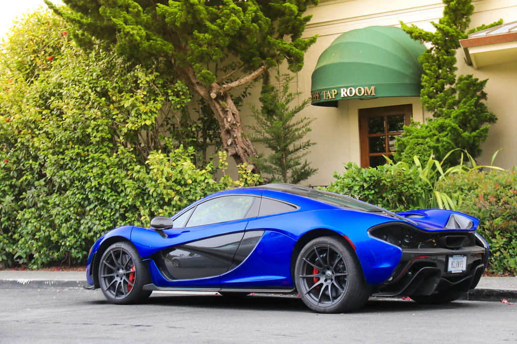 burton blue mclaren p1 | the color wasn't very vibrant in th… | flickr