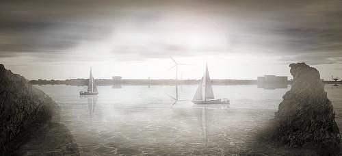 Boat bridge