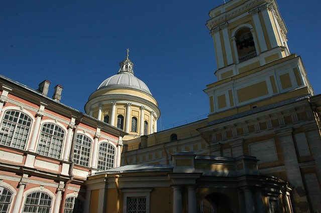 Header of Alexander Nevsky Lavra