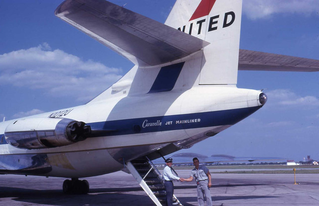 United Airlines Caravelle Jet Mainliner
