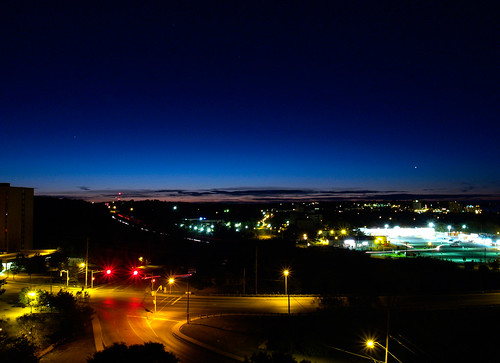 from city morning sky balcony horizon 3am barrieontario