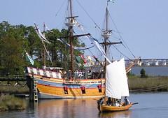 sail, sailboat, sailing ship, vehicle, ship, mast, carrack, watercraft, boat, galleon,