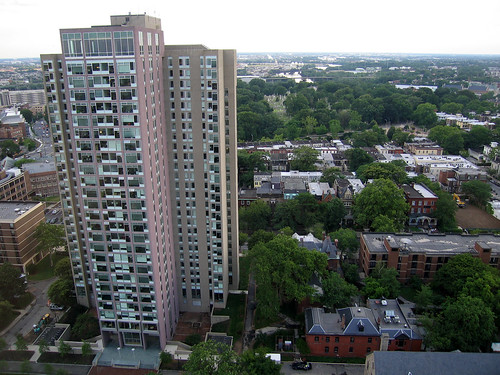 20060609 u penn dorm looms o'er west philly