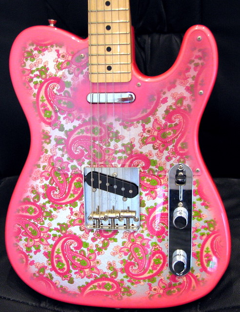 fender telecaster 1969 reissue in pink paisley a photo on flickriver. Black Bedroom Furniture Sets. Home Design Ideas