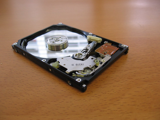Data recovery on crashed hard drive