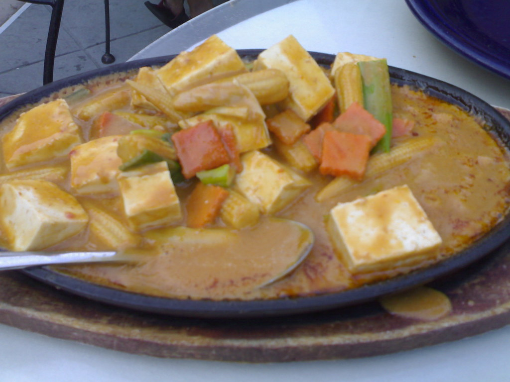 Tofu in spicy peanut sauce amarin thai cuisine castro st for Amarin thai cuisine