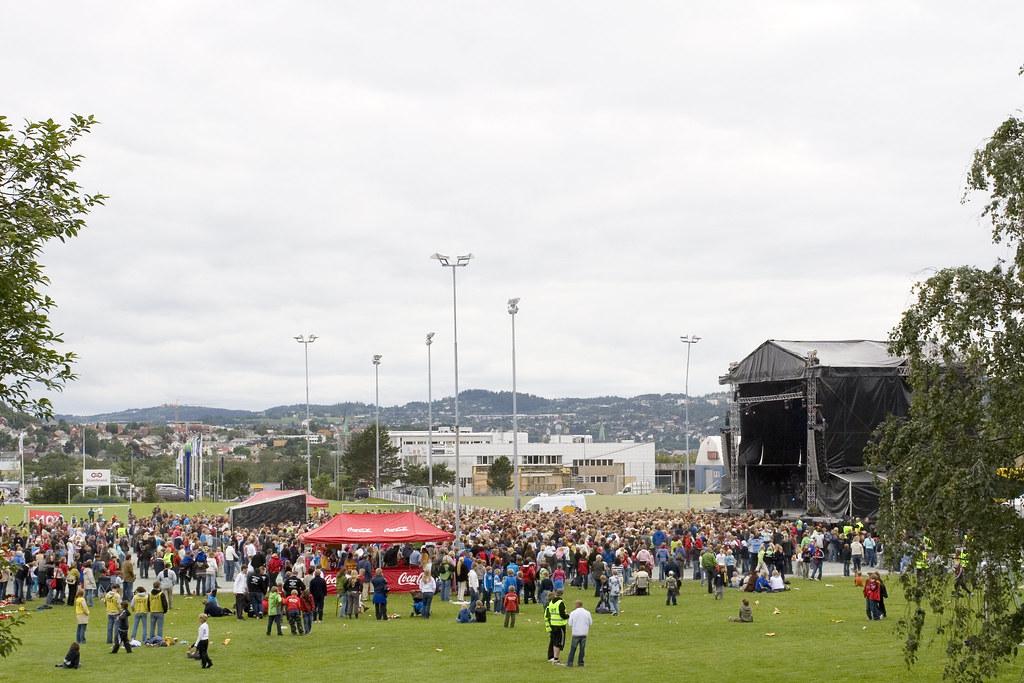 Idol tour 2006 Trondheim