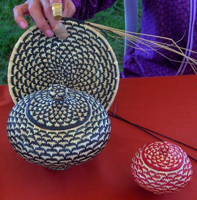 Native American Basket Weaving Instructions : Native american basket weaving beauty depends on size as
