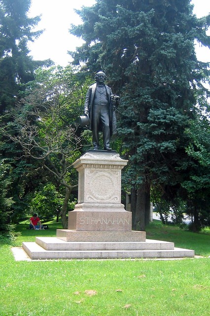 Brooklyn - Prospect Park: James S.T. Stranahan statue
