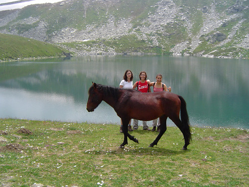 Golemo Ezero sa konjem