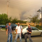 The hills in Westlake Village were burning. We thought we'd document it.