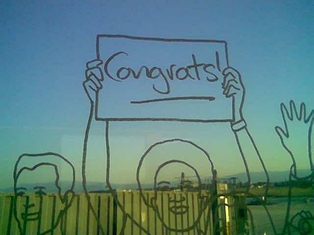 Photo:congrats to the Y! TOMs By:debaird™