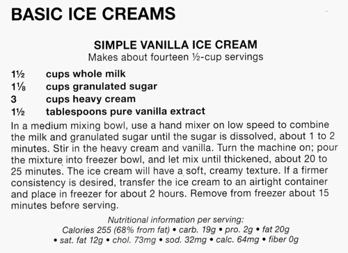 Recipe: Simple Vanilla Ice Cream   See this recipe on Snaksb ...
