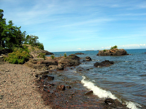 Agate beach, Eagle Harbor, MI