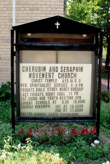 Cherubim and Seraphim Movement Church Sign | Flickr ...