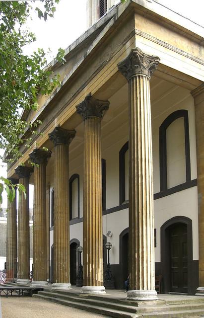 Trinity Church portico