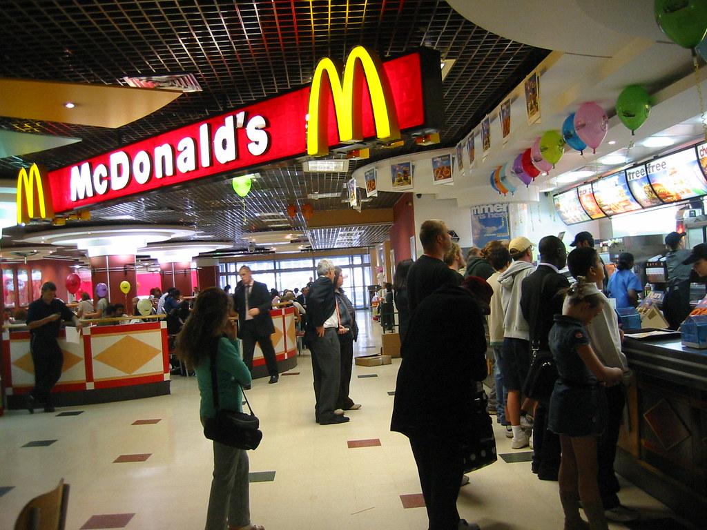 London Victoria Fast Food
