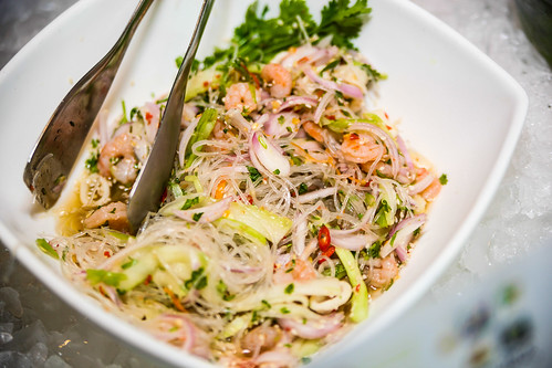 Sesame Flavored Vermicelli & Seafood Vegetables Salad