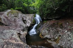Bard Falls along North Harper Creek
