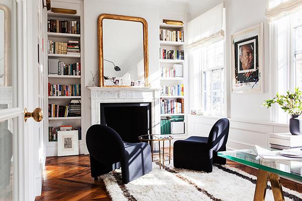 Alison Cayne's Stunning West Village Townhouse