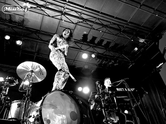 Matt & Kim at Richmond World Festival