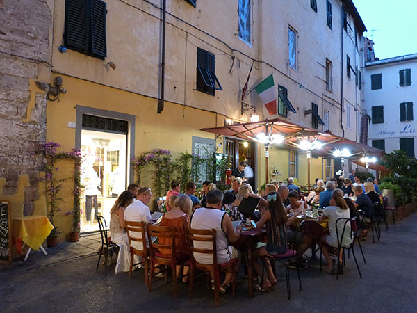 dîners en terrasse
