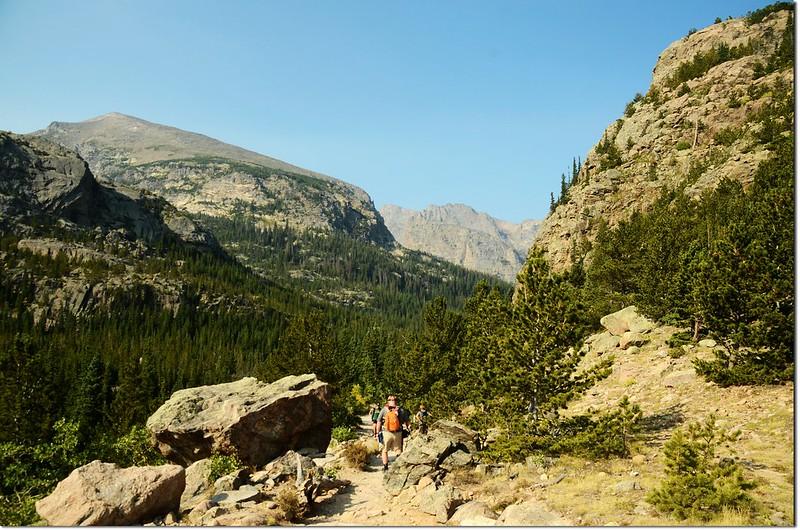 Glacier Gorge trail 2