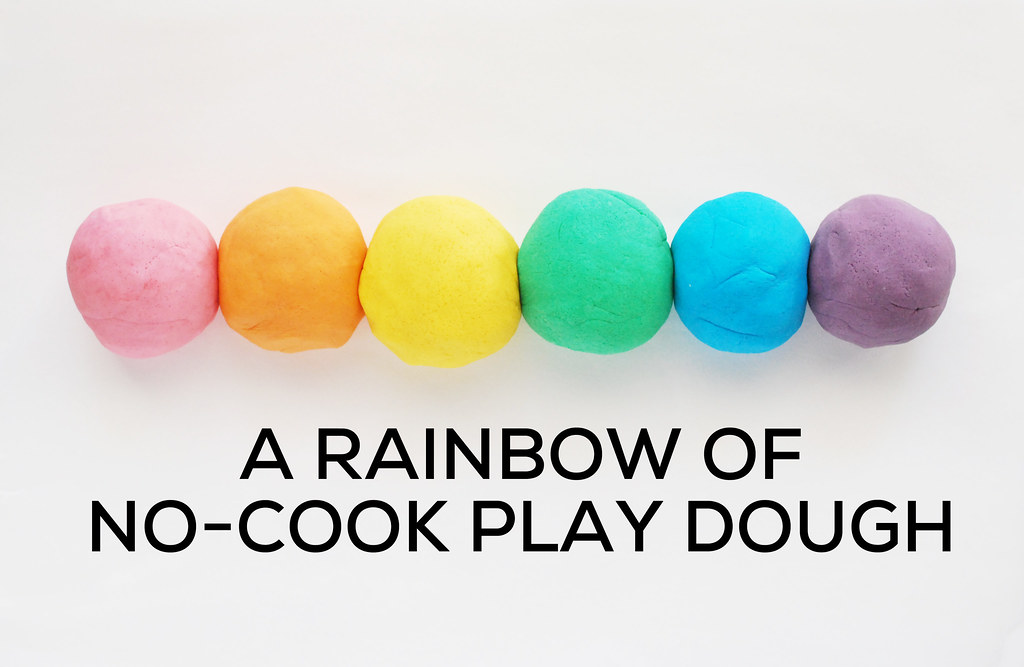 No Cook Play Dough