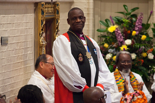 Commissioning of The Most Revd Dr Josiah Idowu-Fearon as Secretary General of the Anglican Communion