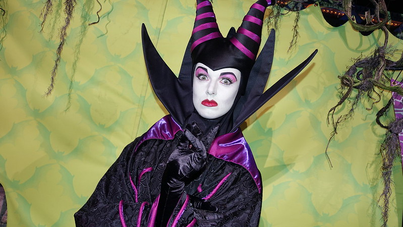 Maleficent at Disneyland Halloween Party