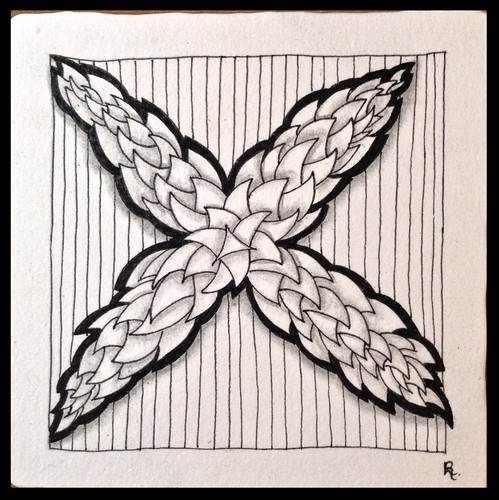 Zentangle 102 for The Diva's Challenge #238