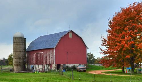 County A / Autumn Barn