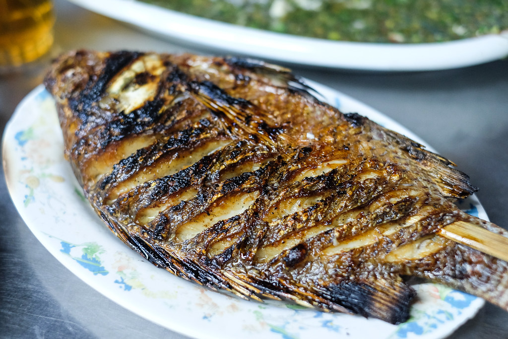 Mandalay Street Food: Tet Nay Win's Lemon Fish