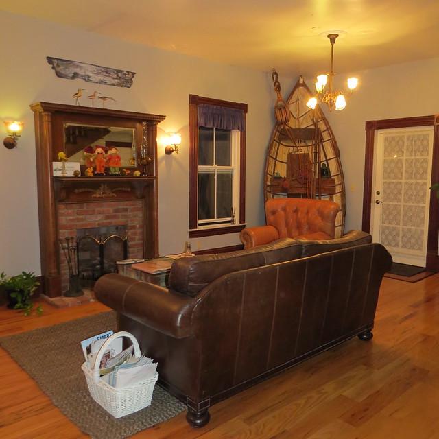 Living Room at Captain's Inn