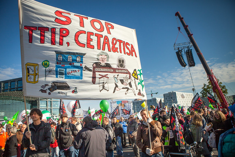 Stop TTIP Demo Berlin – Demonstration TTIP & CETA STOPPEN