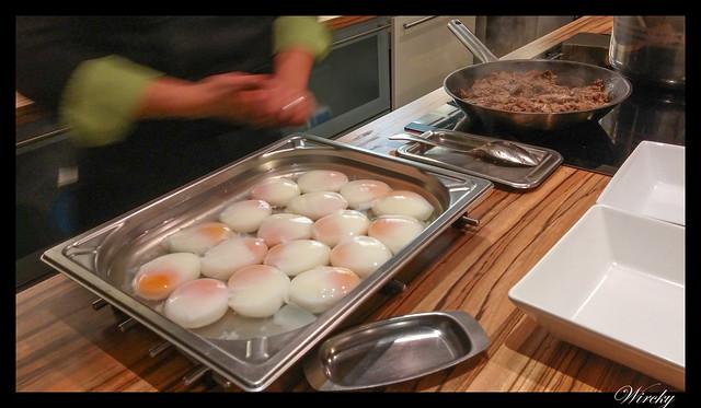 Huevos y setas