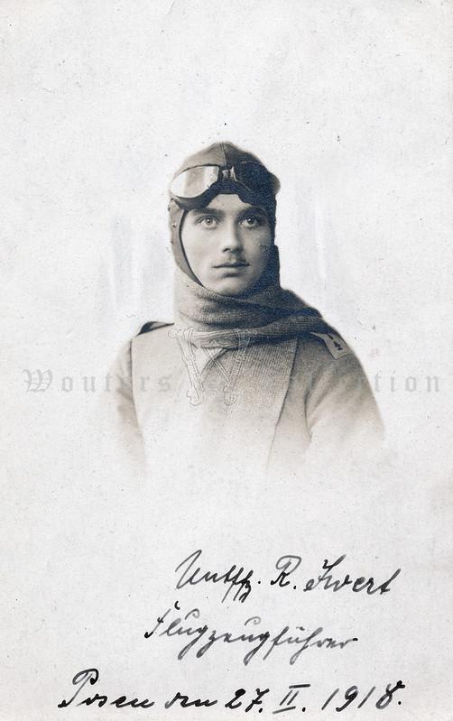 Flugzeugführer Flieger-Ersatz-Abteilung Nr. 4, Posen 1918