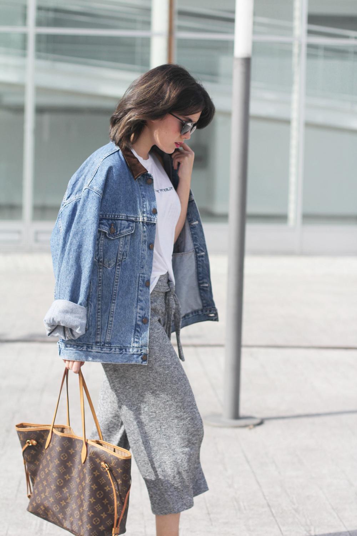 culottes de punto estilo normcore adidas superstar myblueberrynightsblog