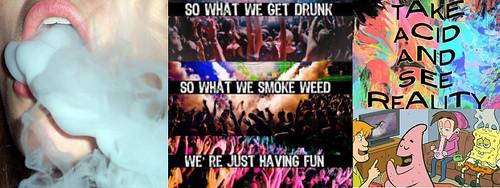 online teen drug culture