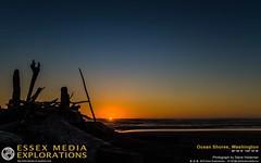 Sunset over Ocean Shores