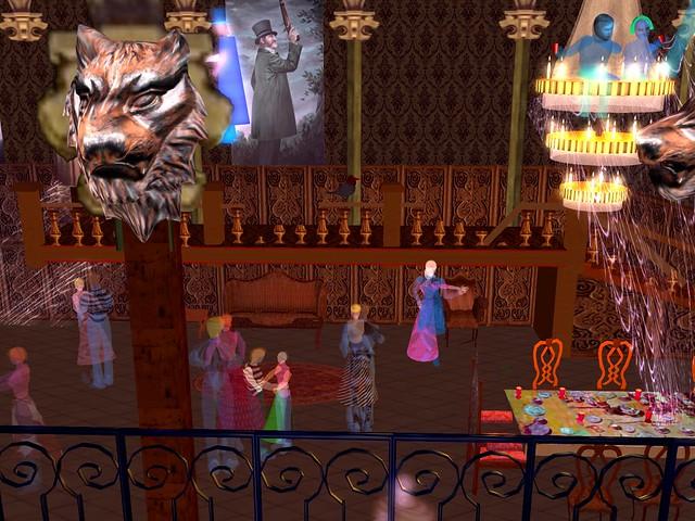 Haunted Mansion - Hidden Mickeys Ballroom of the Dead